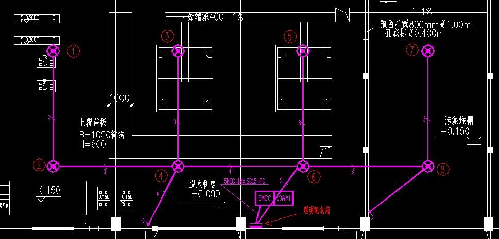电气照明平面图图例