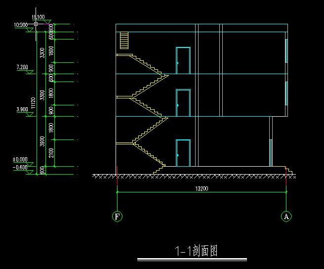 三层自建房户型设计 重新修改 ,请各位前辈大虾提提意见,谢谢