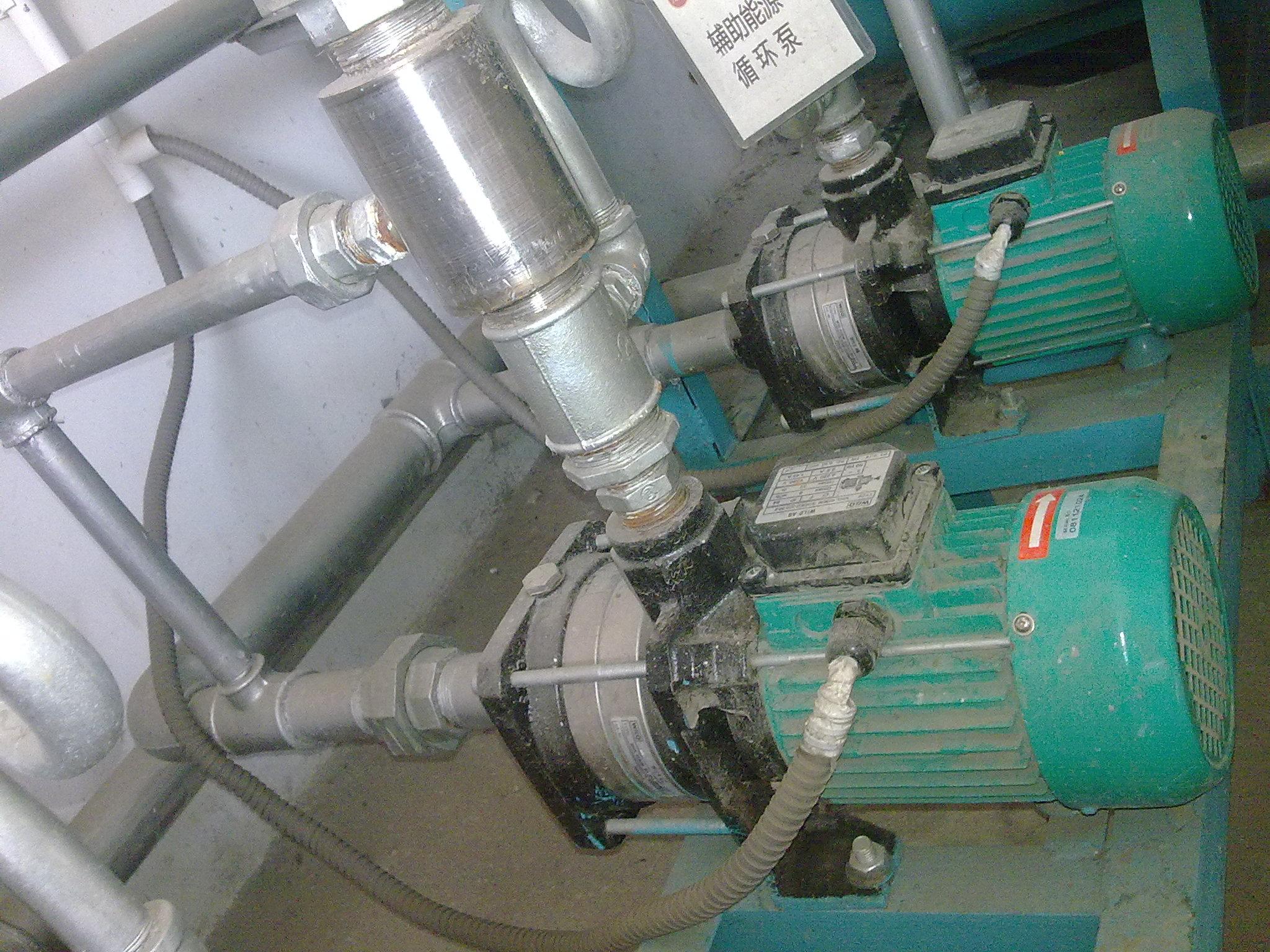 水泵双回路电路图
