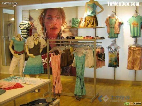 童鞋货柜儿童服装店展