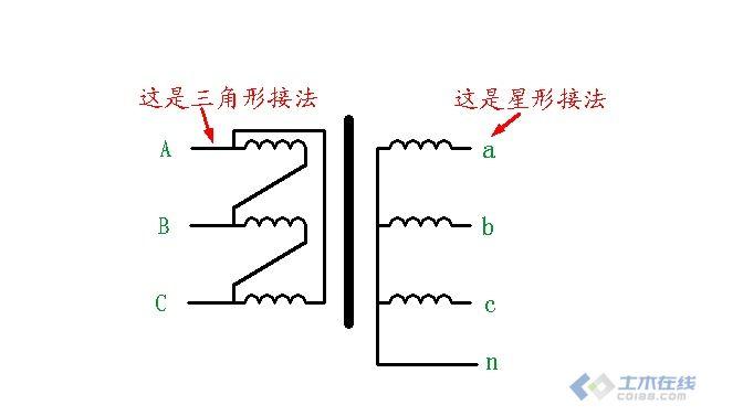 【求助】讲下变压器星角变换后的电压电流情况