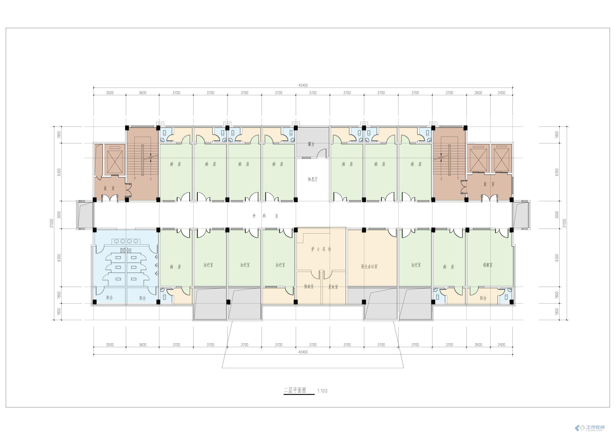 建筑平面图填色步骤-20140909