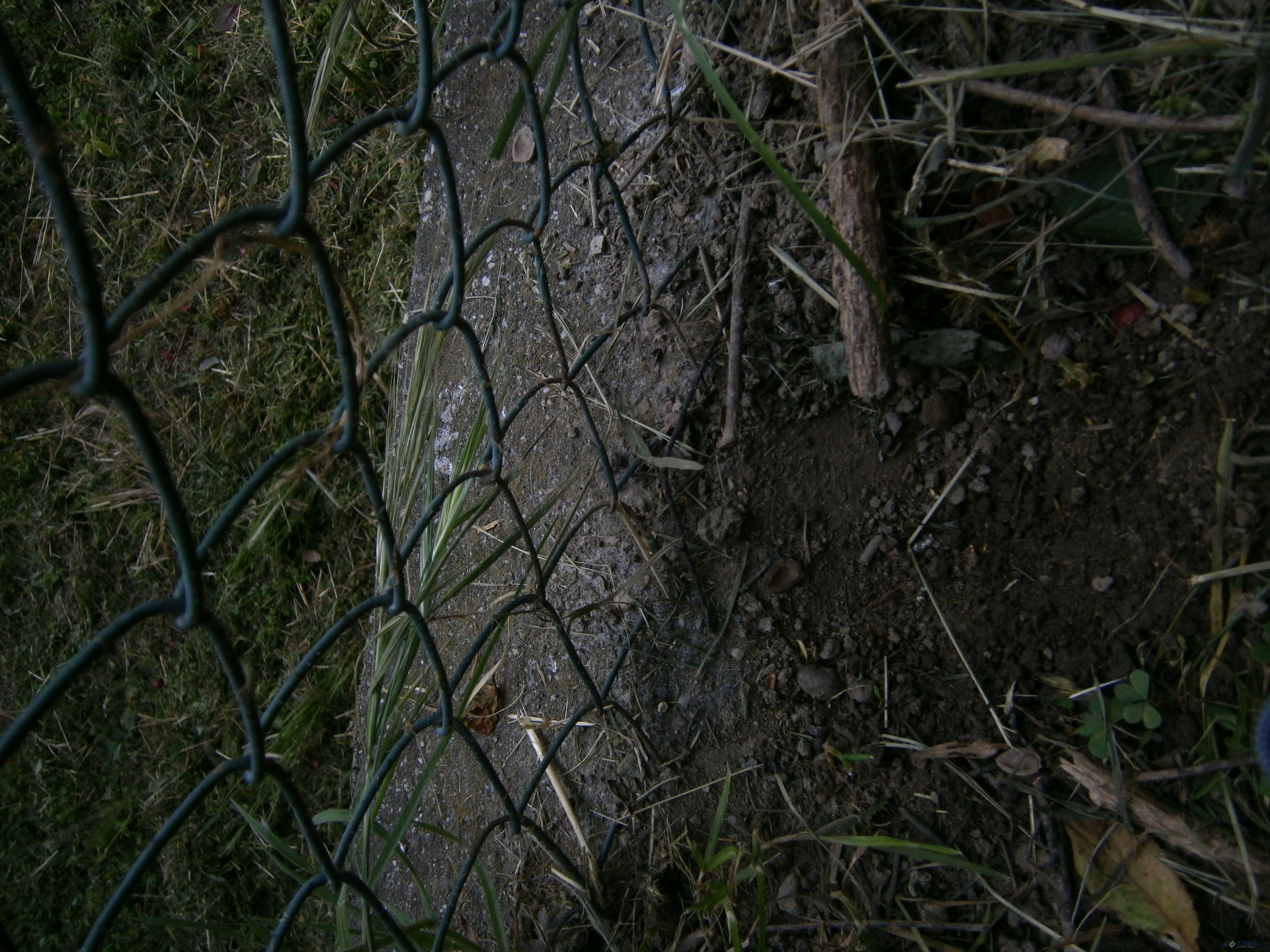 不宜加高挡墙,原斜坡就是草皮护坡 高清图片