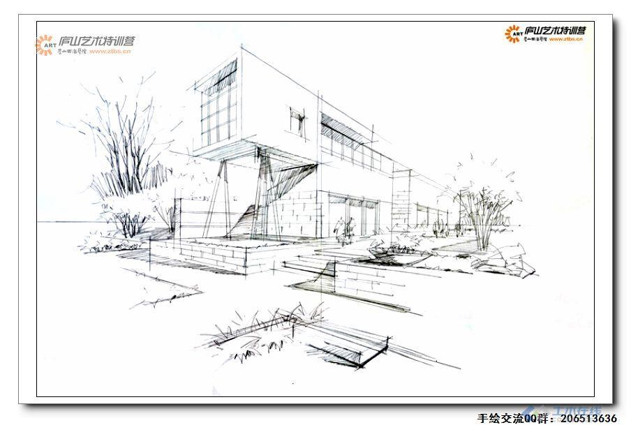 尚龙勇老师建筑两点透视示范1-4.jpg
