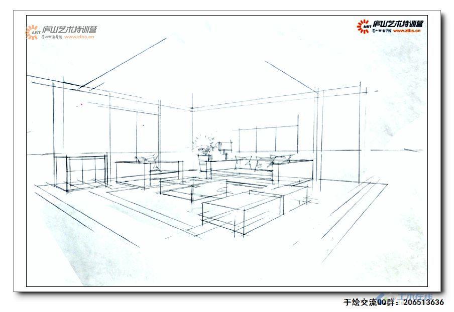 尚龙勇老师室内空间两点透视示范1-4.jpg