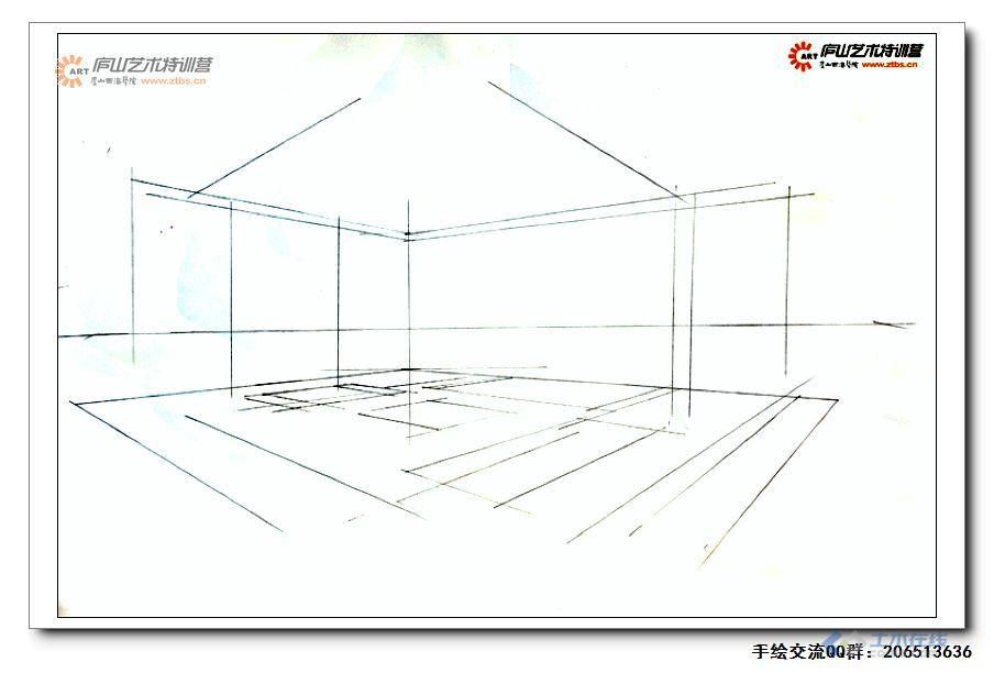 尚龙勇老师室内空间两点透视示范1-2.jpg
