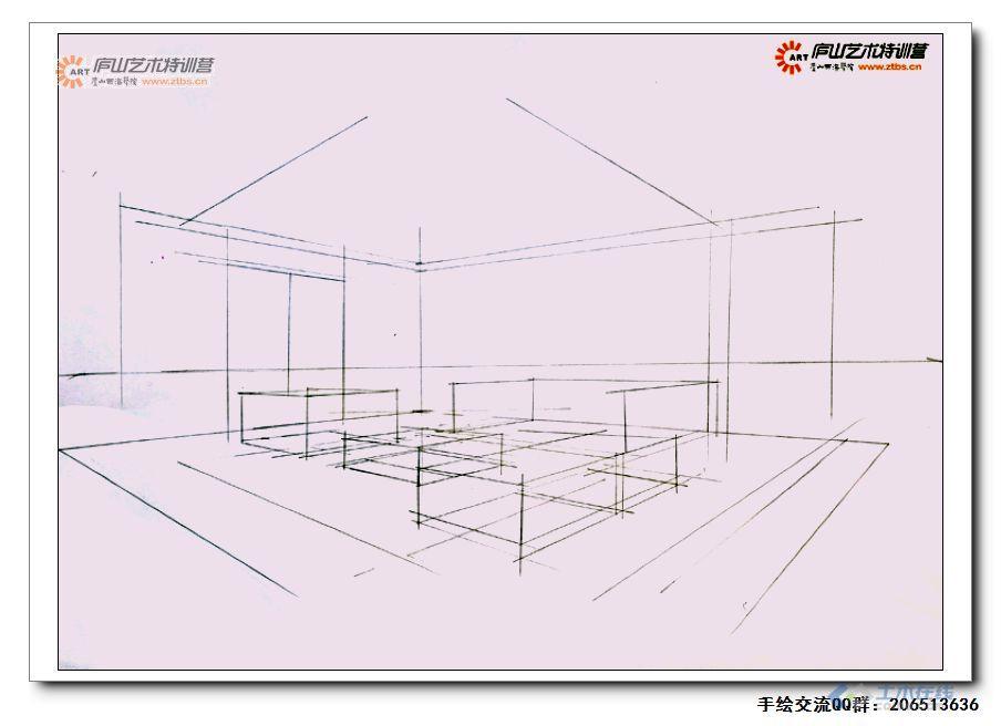 尚龙勇老师室内空间两点透视示范1-3.jpg