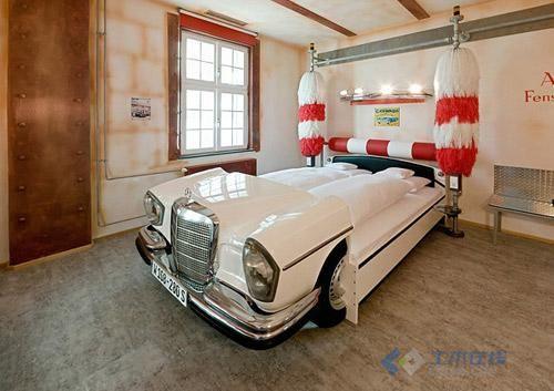超酷的汽车旅馆室内装修设计图高清图片