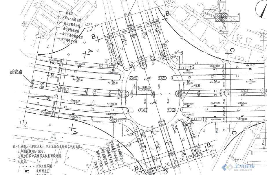 【分享】城市道路-立体交叉施工图设计深度图样