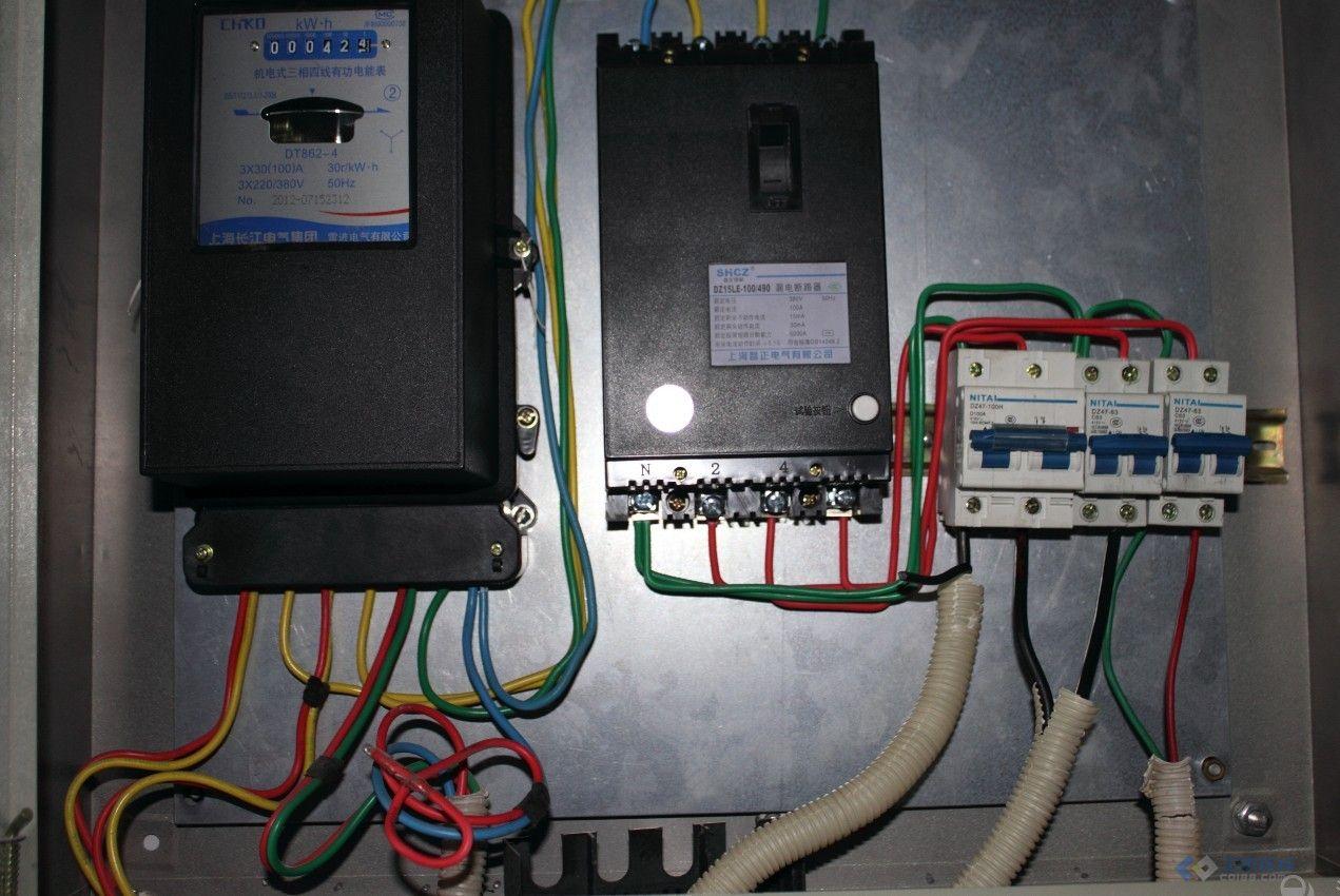 【求教】三项四线漏电保护器接零线跳闸