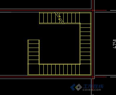 天正中的多跑楼梯及其画法注意事项