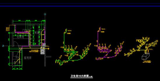 给排水工程施工图图片3