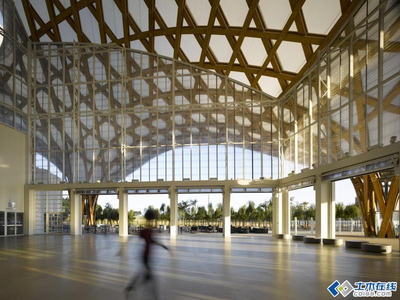 蓬皮杜梅斯中心(centre pompidou-metz) - 鑫山角钢结构设计 - 鑫山角