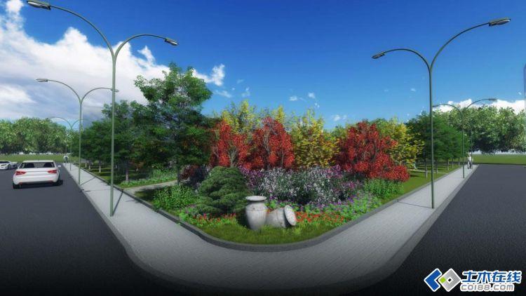 园林景观效果图图片2