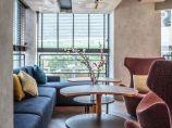 700㎡现代风格香港奥华酒店·南岸餐厅_图3