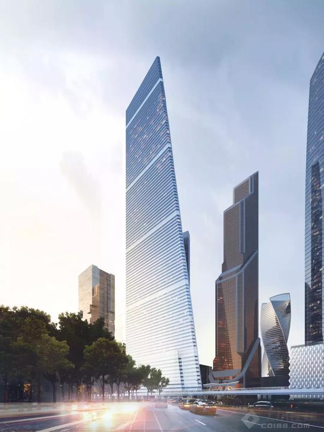 """【早安建筑】莫斯科将建欧洲第二高楼,一把""""菜刀""""赫然而立"""