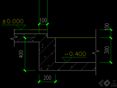 关于缺口梁上部板筋锚固问题_图1