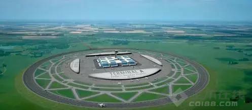 【早安建筑】荷兰人颠覆机场设计,竟然把跑道做成圆形!