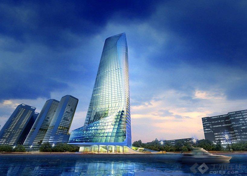 【早安建筑】扎哈在十一年前设计的摩天楼近日有望重启,拟建埃及成为非洲最高