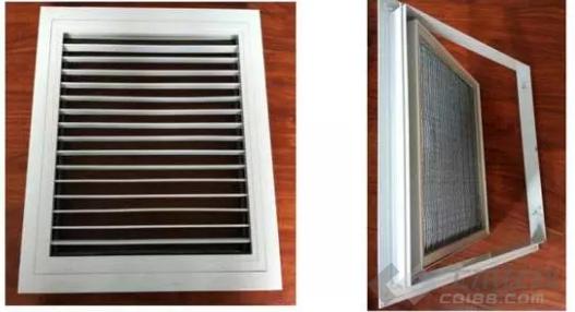 七种空调风口的分类与用途,你知道了吗